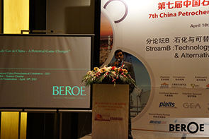 Beroe presents at 7th Annual China Petrochemical Conference, Shanghai on 18th & 19th April 2013