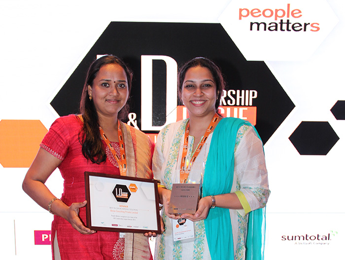 Beroe Inc. wins People Matters Learning & Development Leadership League Award 2015