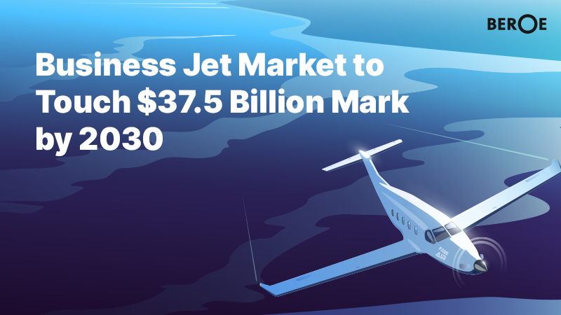 Business Jet Market to Touch $37.5 Billion Mark by 2030, Says Beroe Inc