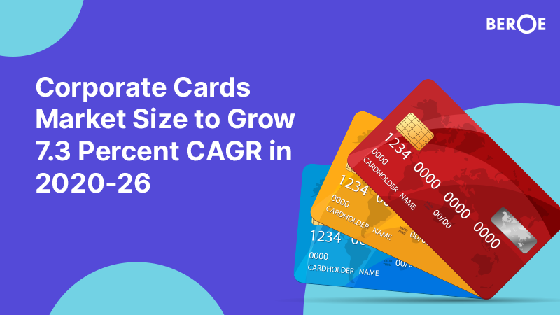 Corporate Cards Market Size to Grow 7.3 Percent CAGR in 2020-26, Says Beroe Report