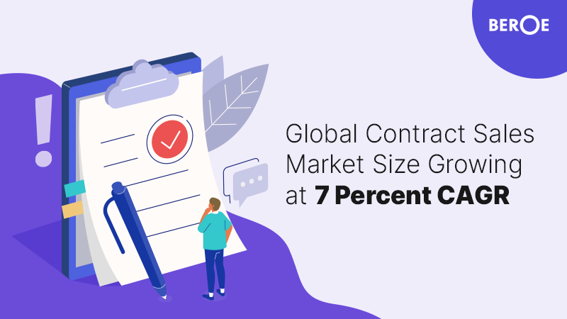 Global Contract Sales Market Size Growing at 7 Percent CAGR, Says Beroe Inc