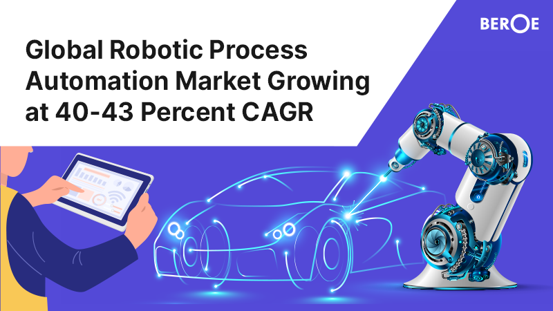 Global Robotic Process Automation Market Growing at 40-43 Percent CAGR, Says Beroe Inc