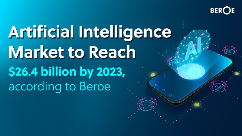 Artificial Intelligence Market to Reach $26.4 billion by 2023, According to Beroe