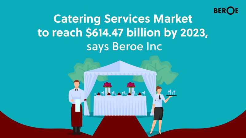 Catering Services Market to reach $614.47 billion by 2023, says Beroe Inc