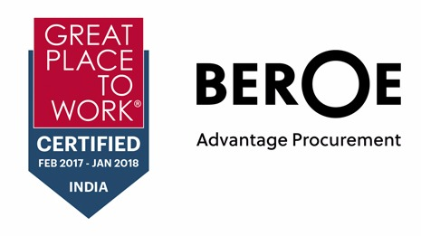 Procurement intelligence pioneer Beroe Inc is certified as a Great Place to Work®