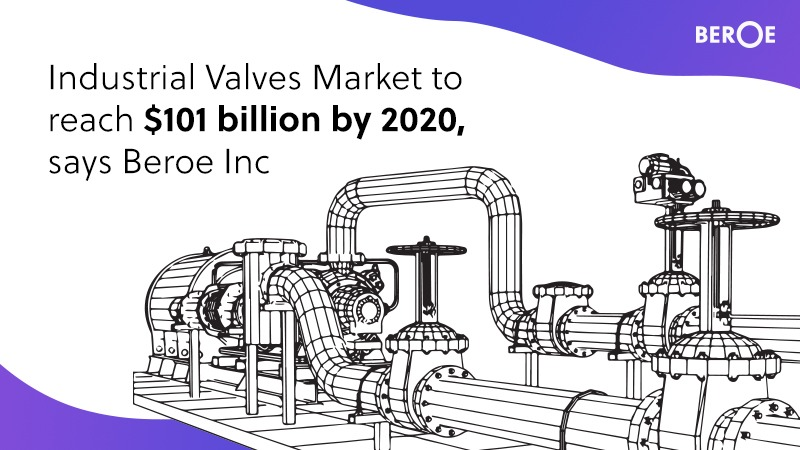 Industrial Valves Market to reach $101 billion by 2020, says Beroe Inc