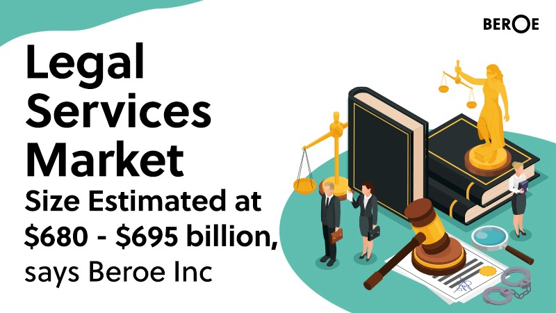 Legal Services Market Size Estimated at $680 - $695 billion, says Beroe Inc