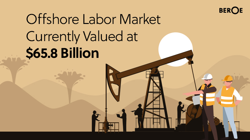 Offshore Labor Market Currently Valued at $65.8 Billion, Says Beroe Inc