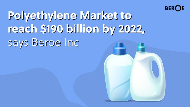 Polyethylene Market to reach $190 billion by 2022, says Beroe Inc