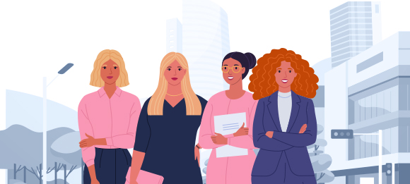 Infographic: Under representation of Women in the Procurement Function