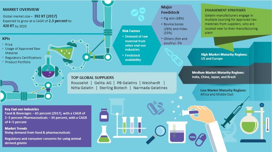 Gelatin Market Intelligence | Analysis, Trends, Forecast