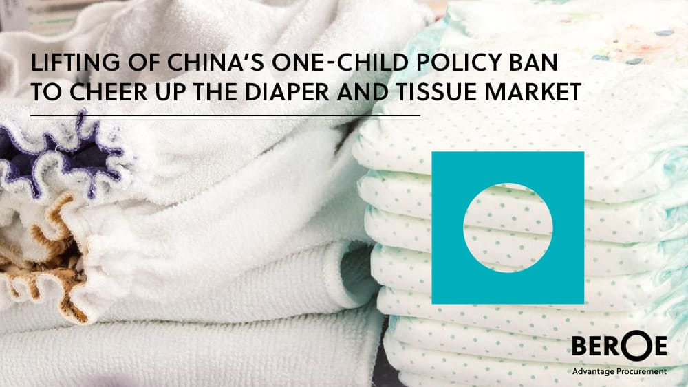 China's one-child policy ban to cheer up the diaper and tissue market