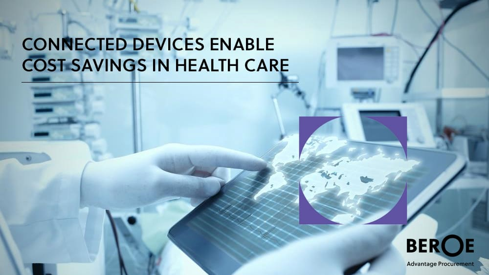 Connected devices - Cost savings in health care