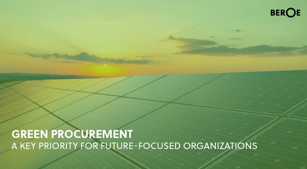 Green Procurement (Sustainable Supply Chain)