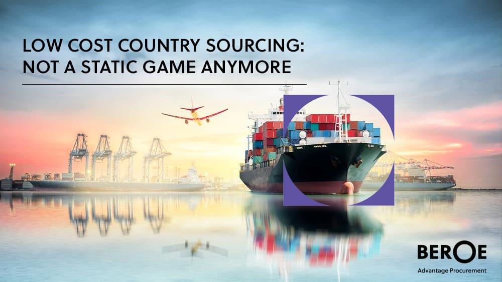 Low cost country sourcing