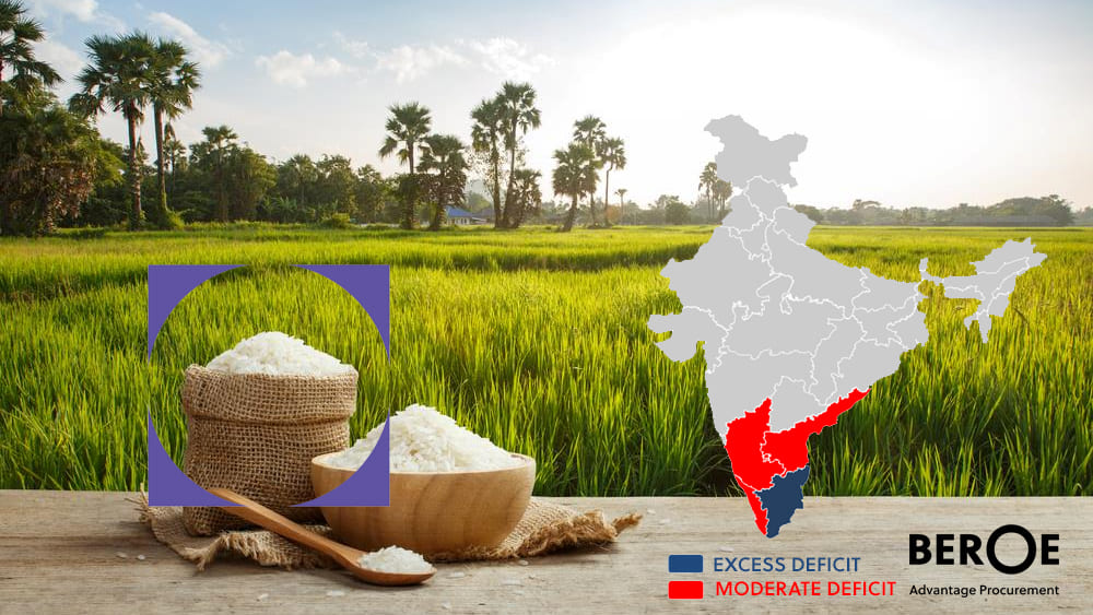 North-East monsoon adversely affects rice and pulses production