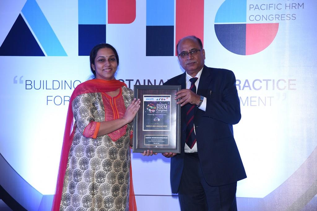 Aarthi HRM award
